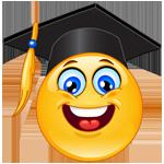 Hire Your Money® Course graduate introduction - graduate emoticon