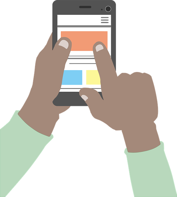 free credit report-man using smartphone
